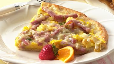 Ham & Chile Brunch Pizza