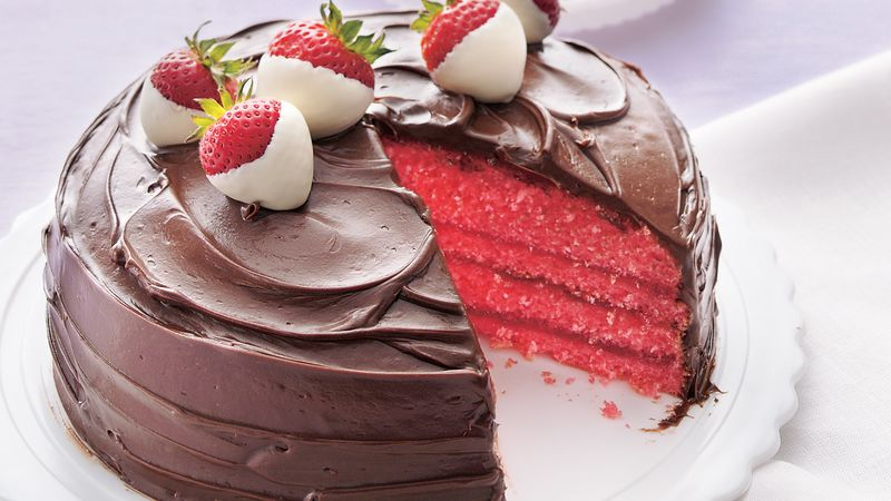 Strawberry Gelatin Cake Filling