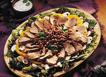 Southwest Pork Salad