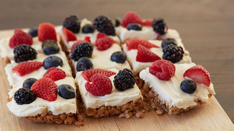Berries and Cream Bars