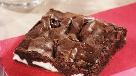 Mint-in-the-Middle Brownies