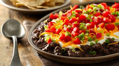 Layered Chorizo Black Bean Dip_image