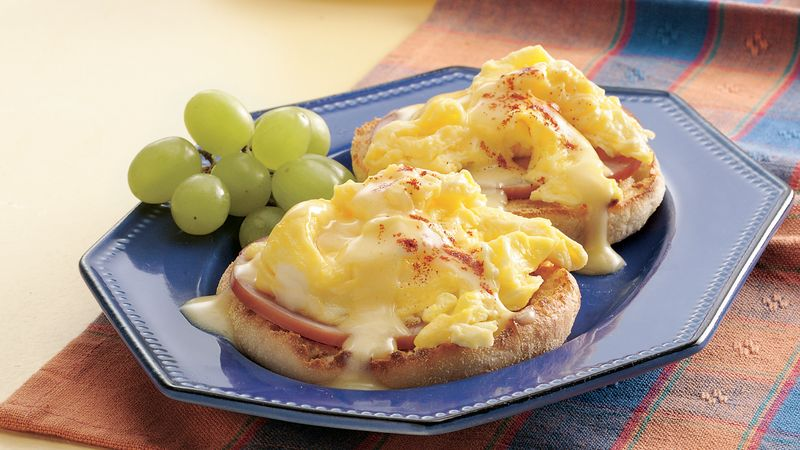 Scrambled Eggs Benedict