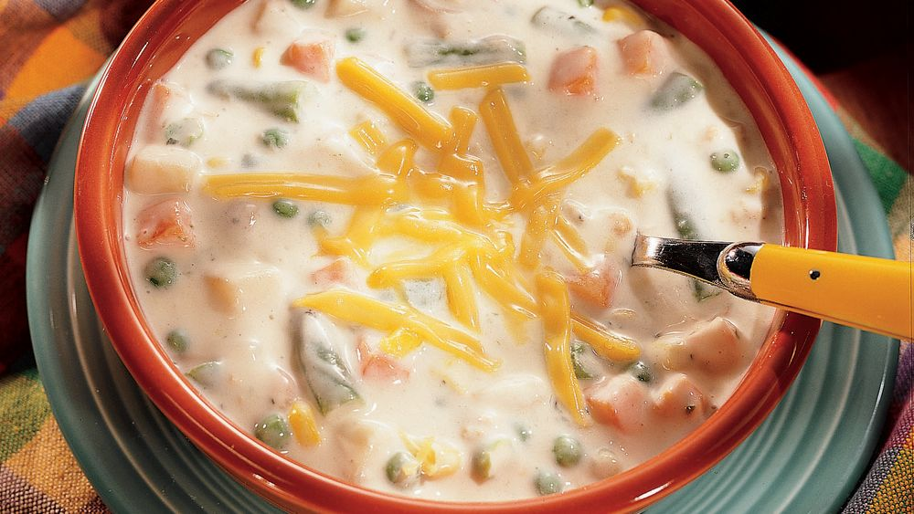 Mixed Vegetable Clam Chowder