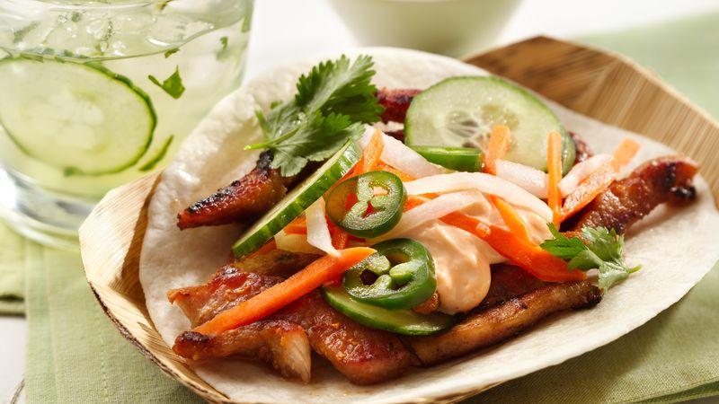 Banh Mi Pork Tacos