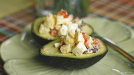 Easy Stuffed Avocado Salad