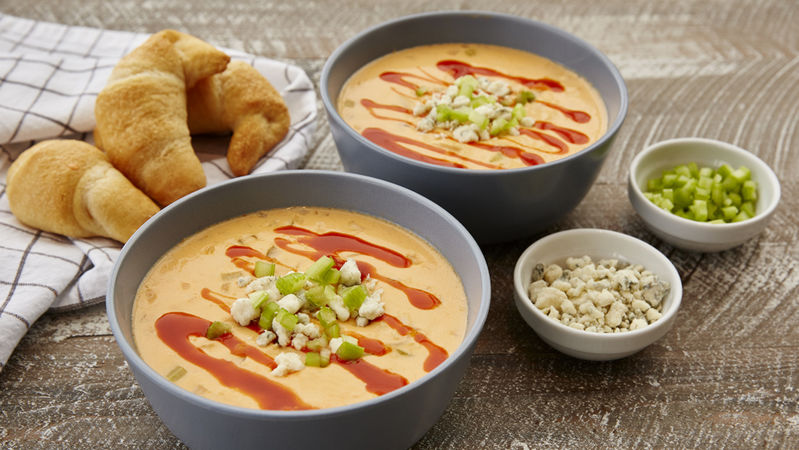 Slow-Cooker Buffalo Chicken Soup