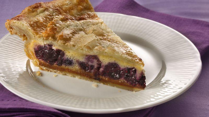 Pillsbury™ Magic Flan Berry Pie