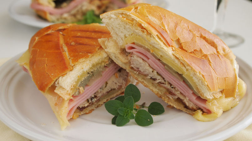 Cuban Sandwich with Lechón