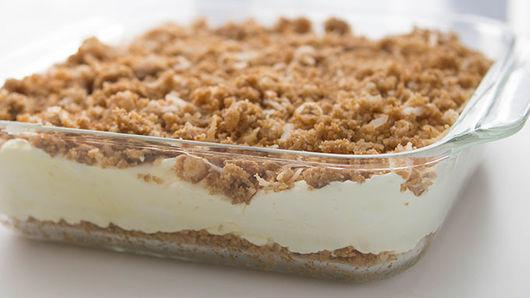 Pina Colada Crunch Cake Recipe Tablespoon Com