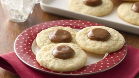 Caramel Thumbprint Sugar Cookies