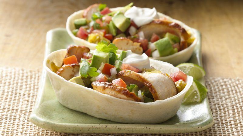Zesty Chicken & Avocado Stand 'N Stuff™ Soft Tacos