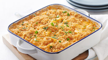Garlic Cheddar Chicken Bake