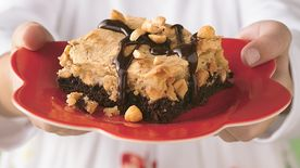 Gooey Chocolate-Peanut Butter Cake