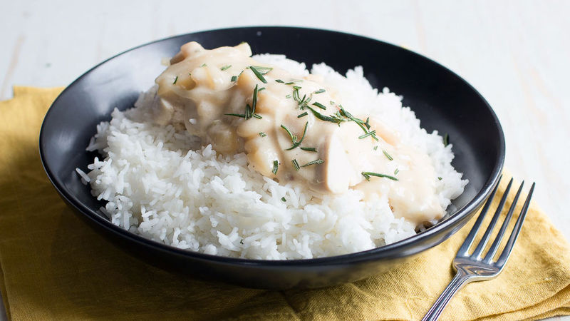 Creamy Potato-Bacon Slow-Cooker Chicken
