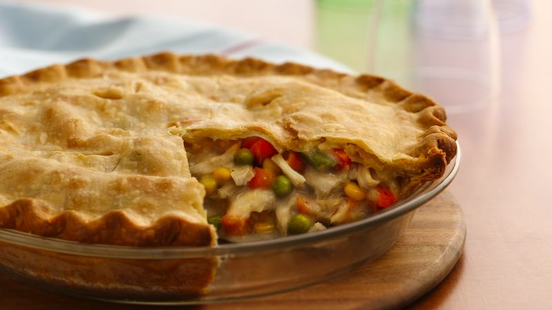 Image result for images of turkey pot pie
