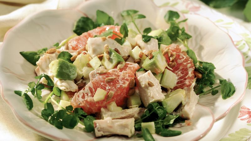 Chicken-Grapefruit Salad