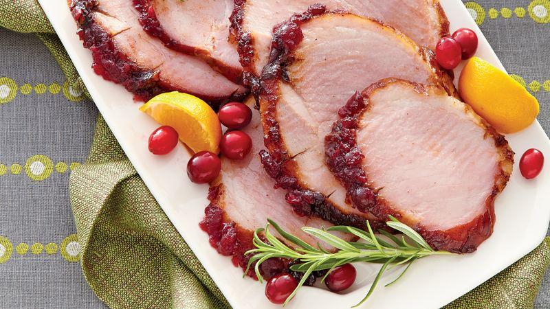 Cranberry-Chipotle Ham