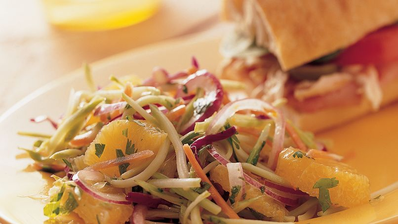 California Citrus-Broccoli Slaw