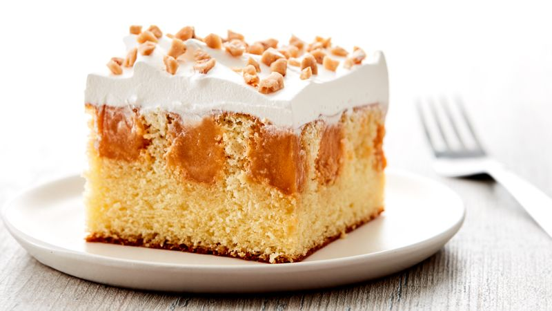Butterscotch Poke Cake