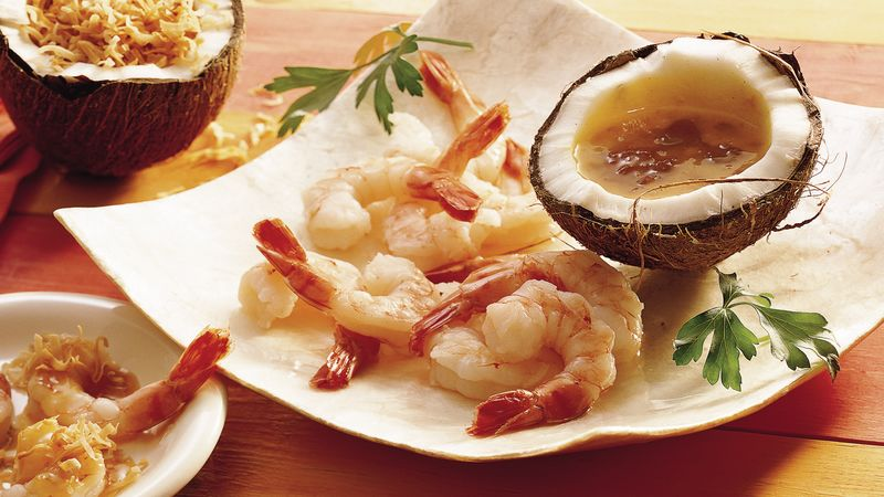 Easy Toasted Coconut Shrimp