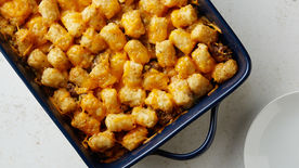 Easy Tater Tot Hotdish