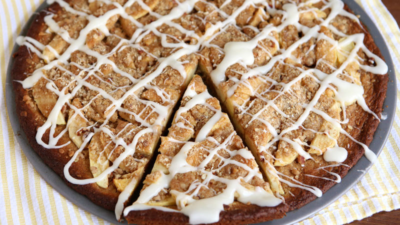 Apple Crisp Cookie Pizza Recipe - BettyCrocker.com