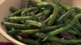Garlic and Herb Green Beans