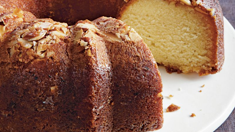 Amaretto Almond Pound Cake