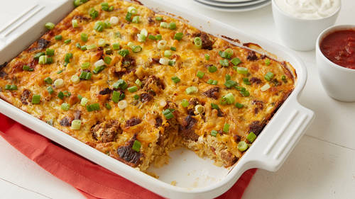 Quick easy breakfast casserole recipes and meal ideas pillsbury breakfast burrito casserole ccuart Gallery