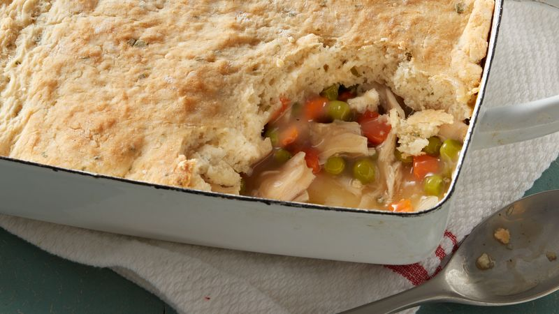 Turkey Pot Pie with Potato Biscuit Crust Recipe ...
