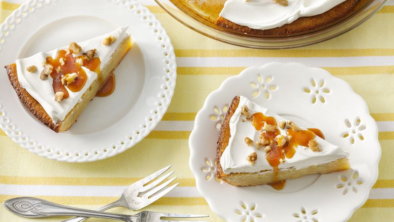 Impossibly Easy Banana Custard Pie