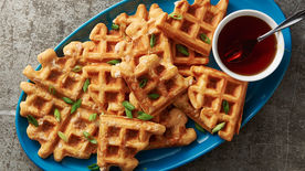 Chicken-Stuffed Waffles