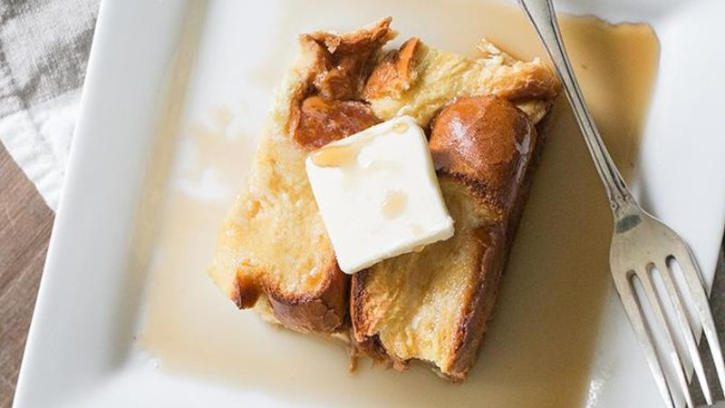 Irish Cream French Toast Bake