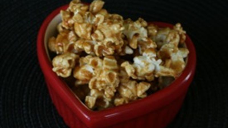 Easy Nut-Free Caramel Corn