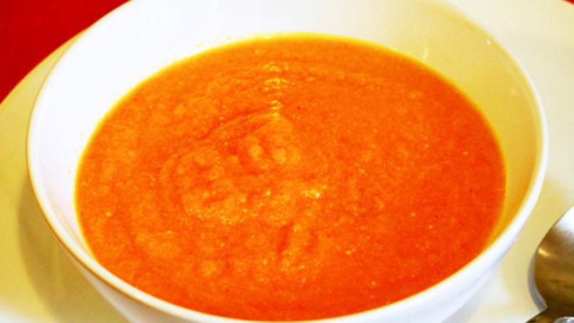 Sopa de Zanahorias con Pimienta de Cayena