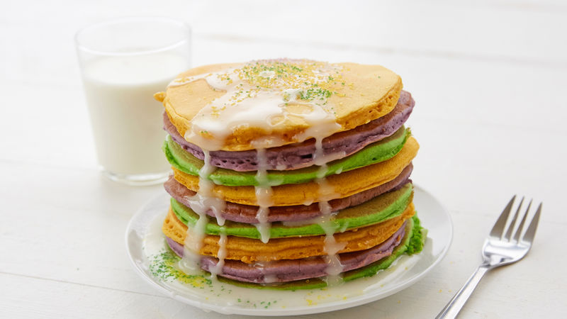 King Cake Pancakes Recipe Tablespoon