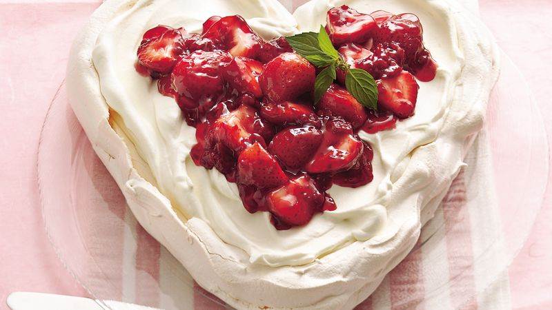 Valentine S Day Meringue Dessert Recipe Bettycrocker Com