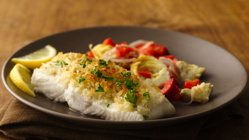 Scampi Style Halibut Recipe Pillsbury Com