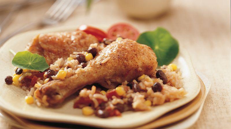Salsa Arroz con Pollo