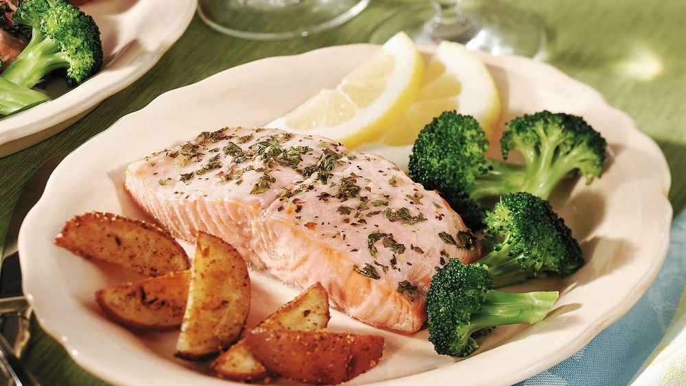 Italian Roasted Salmon