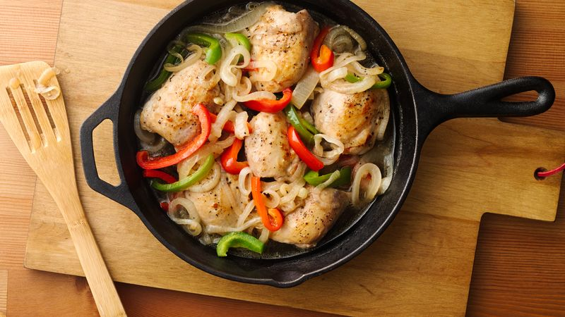 Image result for chicken and peppers