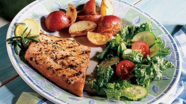 Lemon-Rosemary Salmon