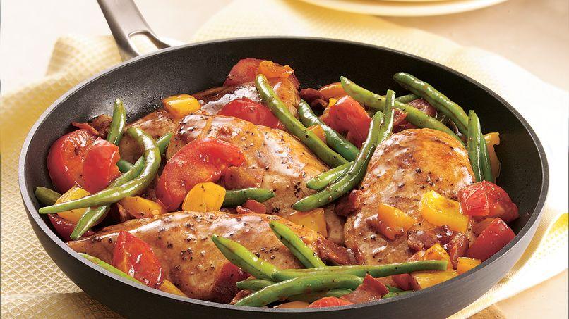 Pollo con Verduras a la Jardinera