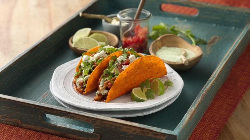 Cilantro-Lime Ten Minute Chicken Tacos