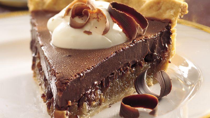 Chocolate Mousse Pecan Pie