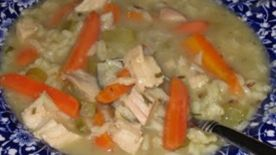 Smokey Turkey Wild Rice Soup