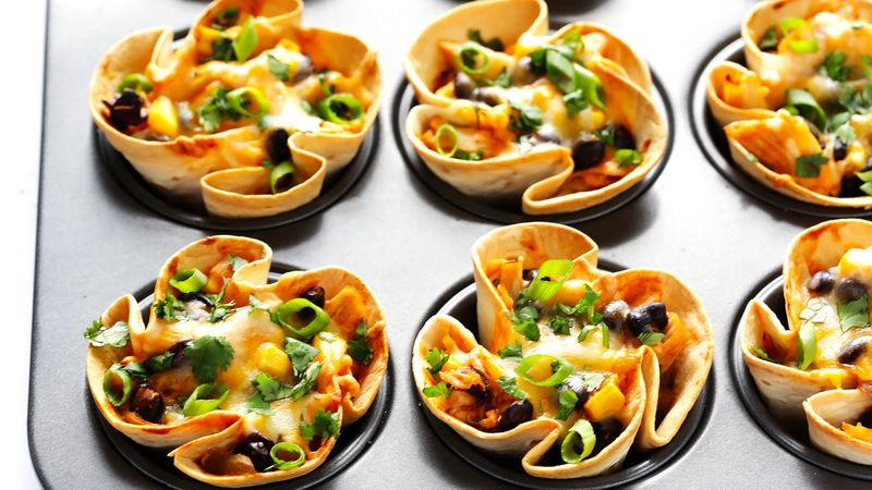 Easy Enchilada Cups Recipe Bettycrocker