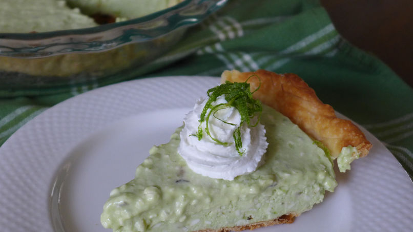 Avocado Lime Pie