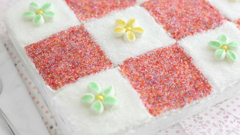 Granny's Patchwork Quilt Cake